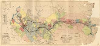 Map 0f America by Property Map Of The Canal Zone Showing Property Belonging To The