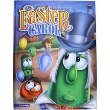 veggie tales easter an easter carol veggietales easter book veggietales