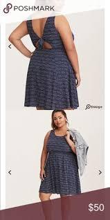 light blue tank dress torrid ruffle challis tank dress nwt ruffles dresses and tank dress