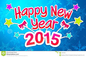 happy new year paper cards blue happy new year 2015 greeting paper card stock