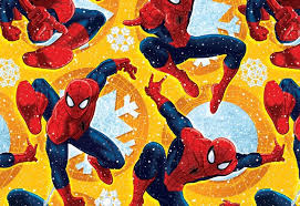 superman wrapping paper spider christmas wrapping paper gift