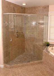 interesting walk in corner shower home design 1006