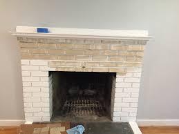 borough bliss how to whitewash a brick fireplace loversiq