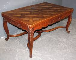 antique draw leaf table country french oak extending draw leaf dining table for sale