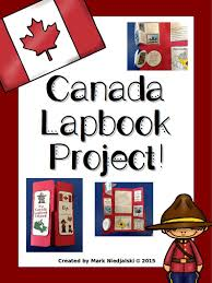 canada lapbook project bird tree interesting facts and students