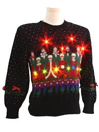 tis the season to wear ugly sweaters her campus