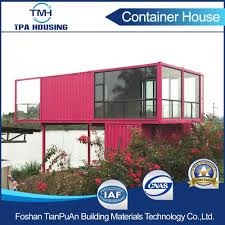 china 2 floor customized size modular container house in home