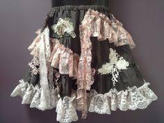 Shabby Chic Skirts by Girls Shabby Chic Belt Bohemian Style White Crochet Vintage