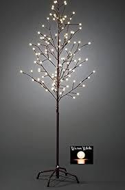 200 warm white christmas tree lights large 5ft pre lit light up 200 berry led cherry blossom tree