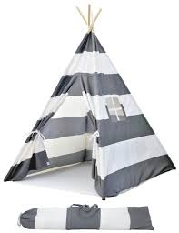 portable canvas teepee tents for kids with carrying case large