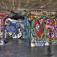 computer graffiti gladsbuy graffiti wall 10 x 10 computer printed