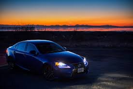lexus isf blue ultrasonic blue lexus is f sport at dusk for your desktop