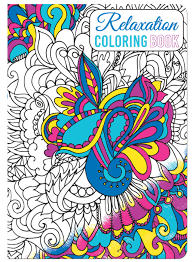 stress relieving coloring pages piccadilly