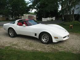 1981 white corvette purchase used 1981 chevrolet corvette white with interior