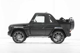 convertible jeep black brabus mercedes benz g500 convertible