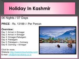 kashmir packages at best price dailymotion
