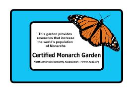 native plants for butterflies butterfly garden certification program north american butterfly