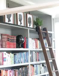 home library design uk rolling bookshelf ladder ikea bookcase rolling ladder rolling