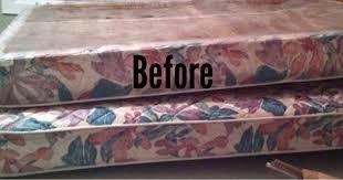 Diy Bed Platform How To Turn Box Springs Into A Modern Diy Platform Bed Curbly