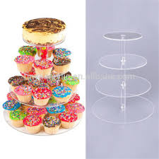 weddings decoration transparency acrylic mini cupcake cup cake