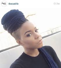box braids on shaved hair now trending braids twists with shaved sides black hair