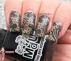 Nail Art Lace Design Negative Space Nail Art Lace Design Inspired By Carmex Lazy Betty