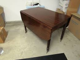 Mahogany Drop Leaf Table Absolute Auctions U0026 Realty