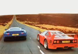bugatti eb110 crash 1994 group road test bugatti eb 110 vs ferrari f40 and jaguar