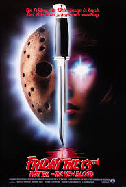 friday the 13th part 7 new blood 1988 original rolled 27x40