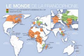 Countries Map Map Of Countries That Speak French Home Decorating Ideas