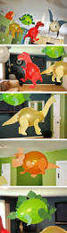 Birthday Decorations To Make At Home by Best 25 Dinosaur Party Decorations Ideas On Pinterest Dinosaur