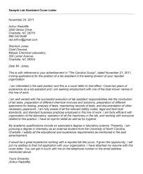 medical research assistant cover letter