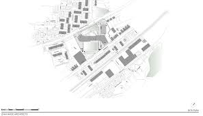 architectural site plan grace academy by zaha hadid architects dezeen