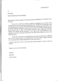 Thank You Letter Business Appreciation by Letter Of Appreciation Ken Boon Bms Organic