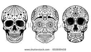 Dia De Los Muertos Pictures Dia De Los Muertos Sugar Skull Vector Pack Download Free Vector