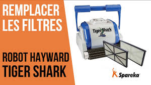comment remplacer les filtres du robot hayward tiger shark youtube