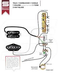 tele wiring diagram 1 humbucker 1 single coil with push pull