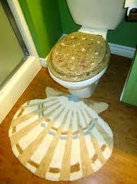 Seashell Bathroom Rugs Lovable Seashell Bath Rug With Seashell Bath Rug Projects