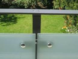 glas f r balkon garde corps en acier à panneaux en verre d extérieur pour