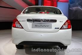 nissan sunny 2014 silver auto expo 2014 nissan sunny facelift revealed