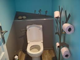 Bleu Canard Peinture by Decoration Toilettes Bleu Dans Les Toilettes Pour Des