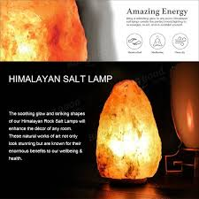 himalayan glow salt l 28 x 17cm himalayan glow hand carved natural crystal salt night l