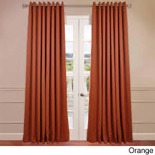 108 Inch Panel Curtains Exclusive Fabrics Extra Wide Thermal Blackout Grommet Top 108 Inch