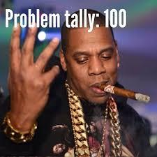 Jay Z 100 Problems Meme - jayz and solange lulz pinterest