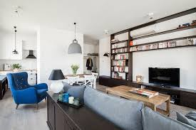 Apartment Styles Soothing Scandinavian Apartment With Blue Touches Digsdigs