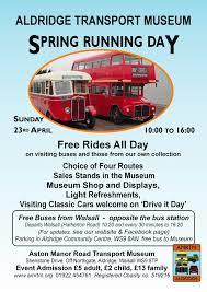 B47 Bus Route Map Aston Manor Transport Museum In Aldridge U2013 Spring Running Day This