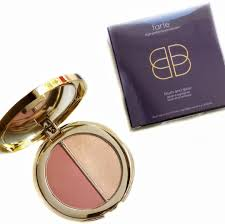 and glow tarte blush glow duo review swatches beauddiction