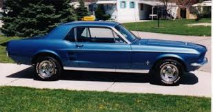 1967 blue mustang 1967 mustang pictures