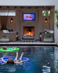 backyard amazing outdoor spaces top designers fireplaces