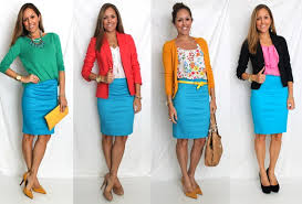 What Goes Well With Blue 30 Ways To Mix Turquoise U0026 Teal Work Clothes For Women